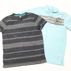 Old Navy tshirt and polo shirt for boys